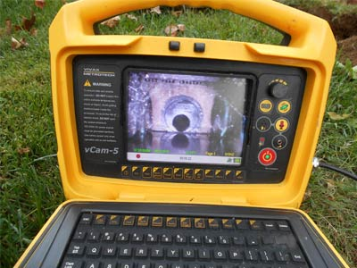 Photo of video camera used for septic inspections by Statewide Environmental Services LLC